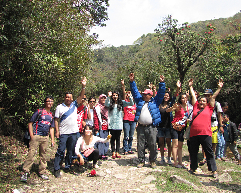 Hike for health and Recreation